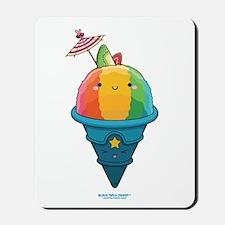 Kawaii Rainbow Shaved Ice Mousepad