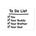 Her To Do List Postcards (Package of 8)