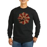 Peace Through Commerce Long Sleeve Dark T-Shirt