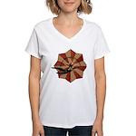 Peace Through Commerce Women's V-Neck T-Shirt