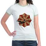 Peace Through Commerce Jr. Ringer T-Shirt