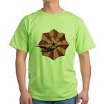 Peace Through Commerce Green T-Shirt
