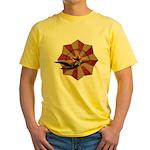 Peace Through Commerce Yellow T-Shirt