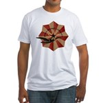Peace Through Commerce Fitted T-Shirt