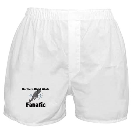 Northern Right Whale Fanatic Boxer Shorts