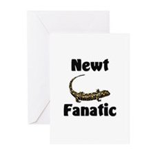 Newt Fanatic Greeting Cards (Pk of 10)