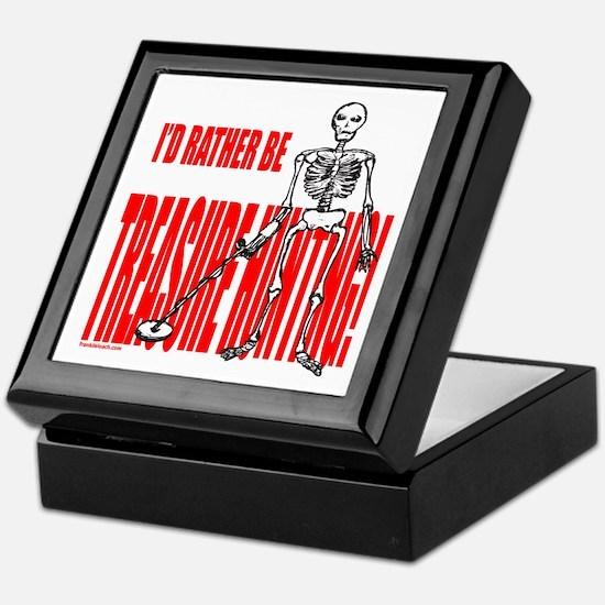 TREASURE HUNTING Keepsake Box