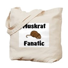 Muskrat Fanatic Tote Bag