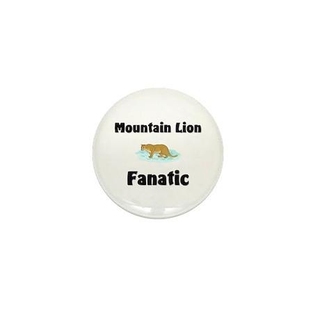Mountain Lion Fanatic Mini Button