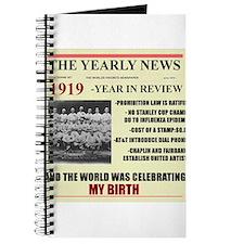born in 1919 birthday gift Journal