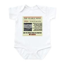 born in 1919 birthday gift Infant Bodysuit