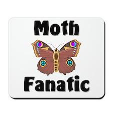 Moth Fanatic Mousepad