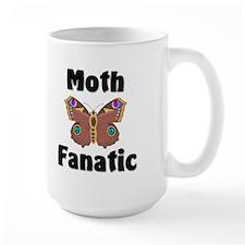 Moth Fanatic Large Mug