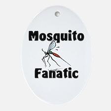Mosquito Fanatic Oval Ornament