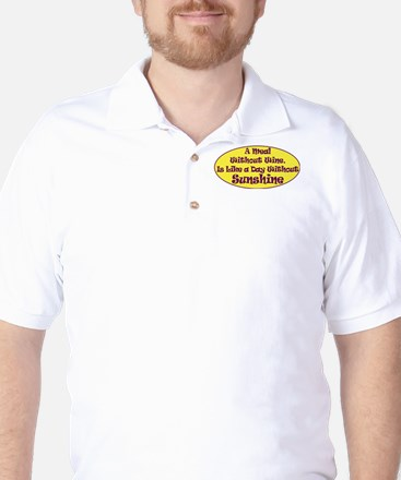 A Meal Without Wine Golf Shirt