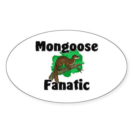 Mongoose Fanatic Oval Sticker