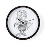 Mr. Max Dude Wall Clock