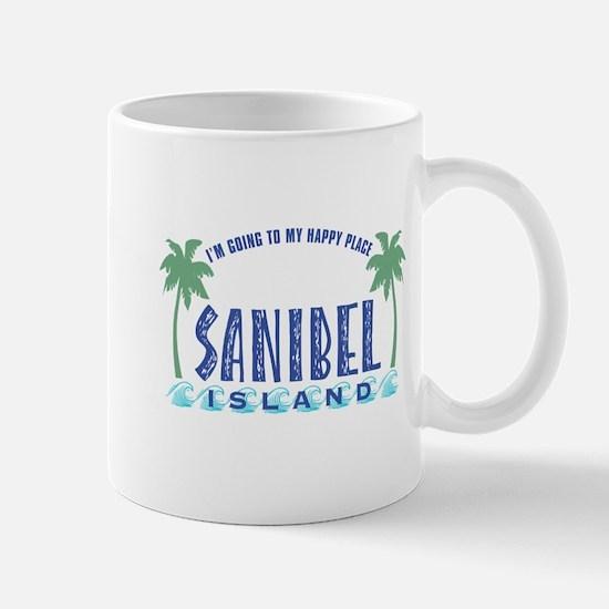 Sanibel Happy Place - Mug