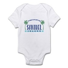 Sanibel Happy Place - Infant Bodysuit