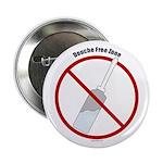 """Douche Free Zone 2.25"""" Button"""
