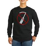 Douche Free Zone Long Sleeve Dark T-Shirt