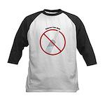 Douche Free Zone Kids Baseball Jersey