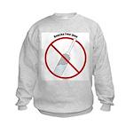 Douche Free Zone Kids Sweatshirt
