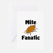 Mite Fanatic Greeting Cards (Pk of 10)
