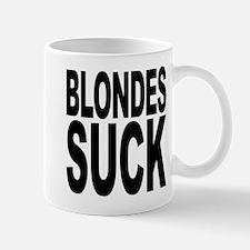 Blondes Suck Small Small Mug