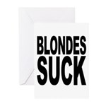 Blondes Suck Greeting Cards (Pk of 20)