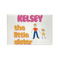 Kelsey - The Little Sister Rectangle Magnet