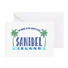 Sanibel Happy Place - Greeting Card