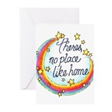 Home rainbow Greeting Cards (20 Pack)