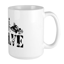 Go-Kart Evolution Mug