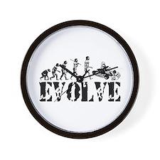 Go-Kart Evolution Wall Clock