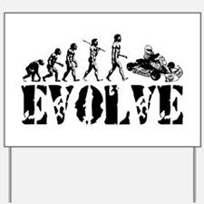 Go-Kart Evolution Yard Sign
