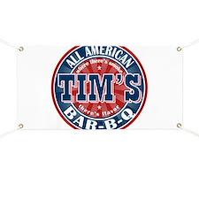 Tim's All American BBQ Banner