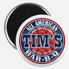 Tim's All American BBQ Magnet
