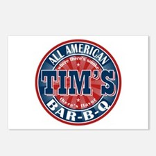 Tim's All American BBQ Postcards (Package of 8)