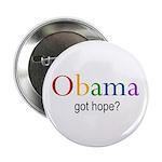 "Obama ""Got Hope"" 2.25"" Button (100"
