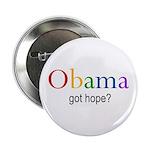 "Obama ""Got Hope"" 2.25"" Button"
