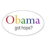 Obama Oval Sticker (50 pk)