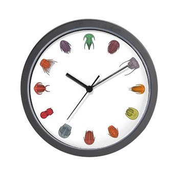 Trilobite Wall Clock