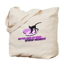 Spider-Monkey Tote Bag