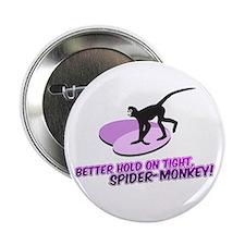 """Spider-Monkey 2.25"""" Button"""