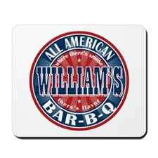 William's All American BBQ Mousepad