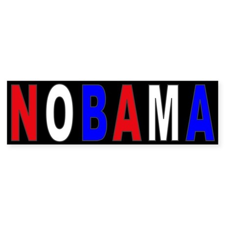 RWB Nobama Bumper Sticker