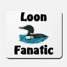 Loon Fanatic Mousepad