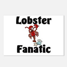 Lobster Fanatic Postcards (Package of 8)