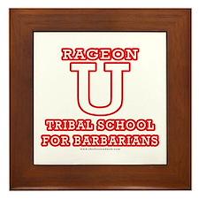 Rageon University Framed Tile